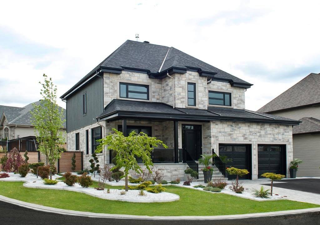 Exemple de facade de maison great demeure moderne with - Exemple de facade de maison ...